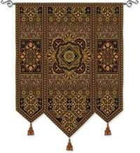"Masala Anise - 53""x67"" Tapestry Wall Hanging"