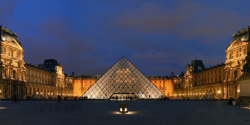 "Louvre Museum, France (16"" x 24"") - Canvas Wrap Print"