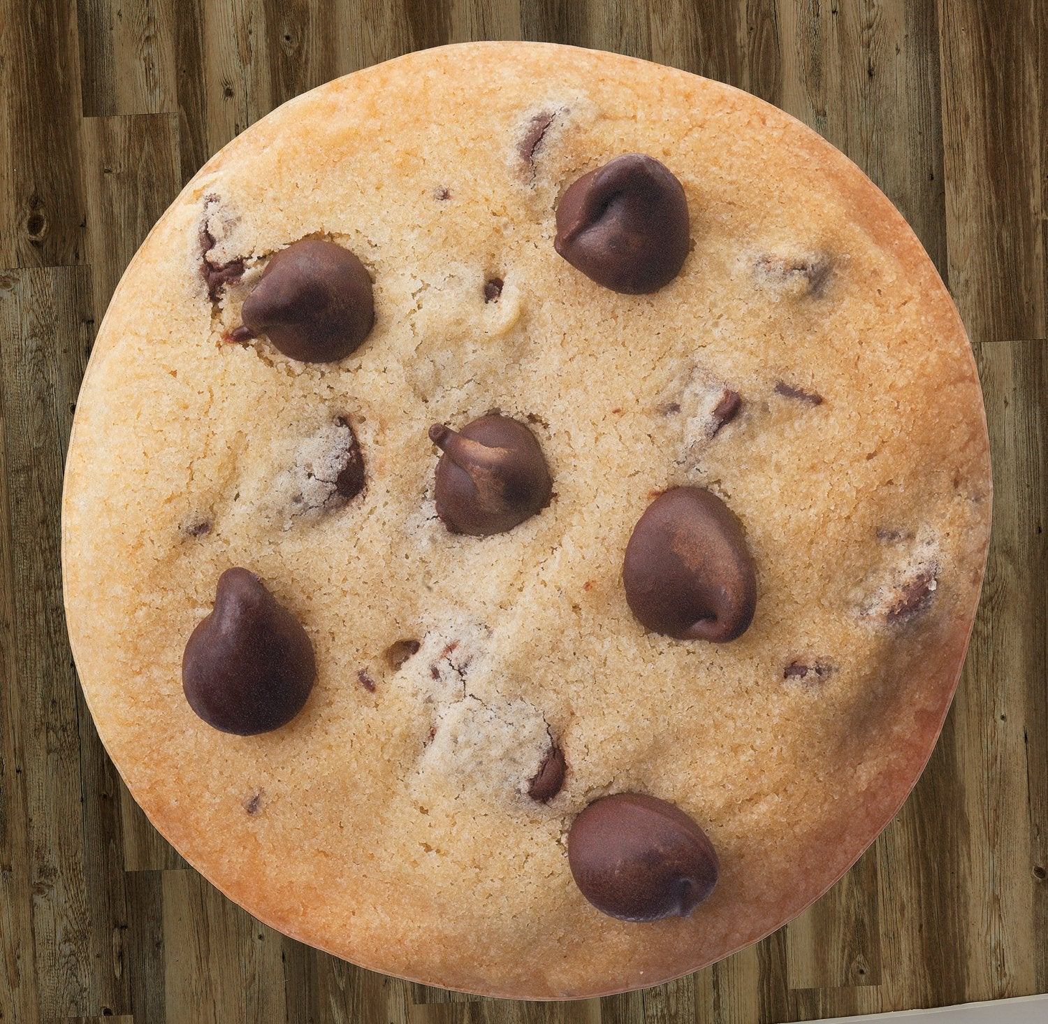 "Chocolate Chip Cookie 60"" Round Microfiber Beach Towel"
