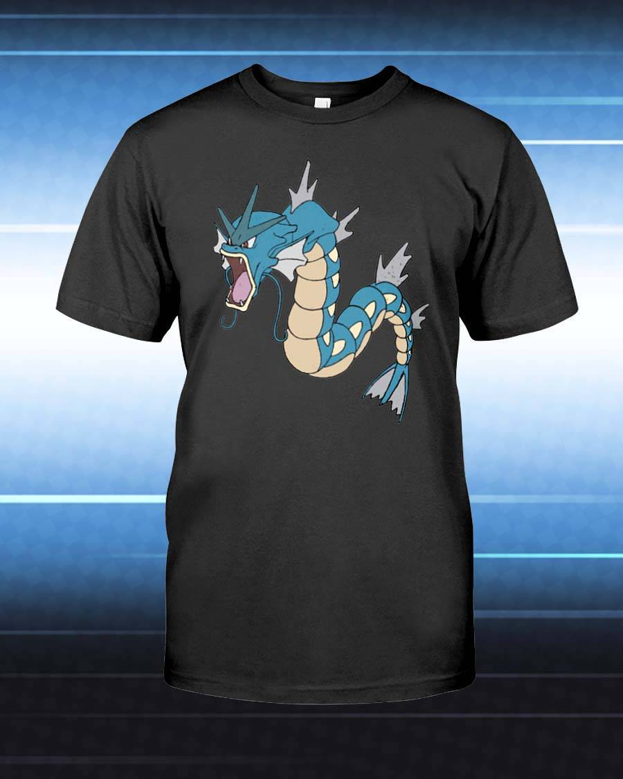 Gyarados Unisex T-Shirt - Any Color Shirt Available