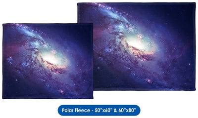 Spiral Galaxy - Throw Blanket / Tapestry Wall Hanging