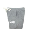 OSG Joggers Grey Old School Gym Sweatpants Side View