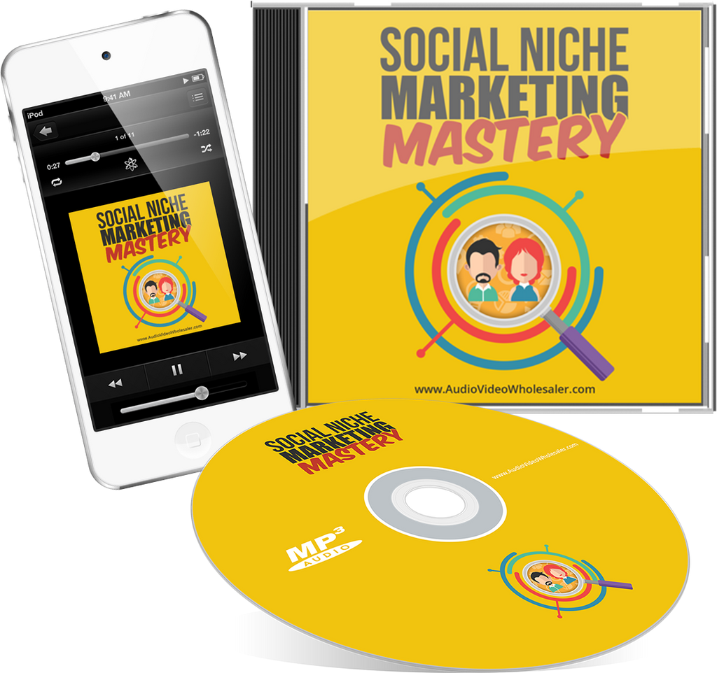 Social Niche Marketing Mastery Audio Book (Master Resell Rights License)