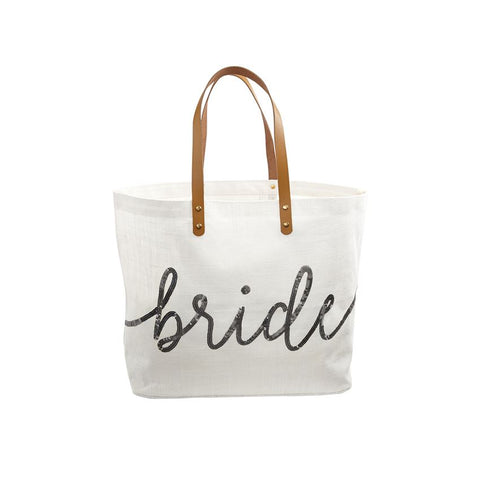 SILVER MUD PIE BRIDE SEQUIN TOTE