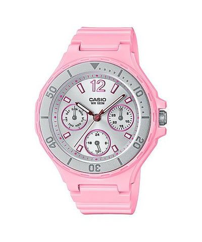 Casio Women's Diver Style Pink Resin Band Watch LRW250H-4A2 LRW-250H-4A2