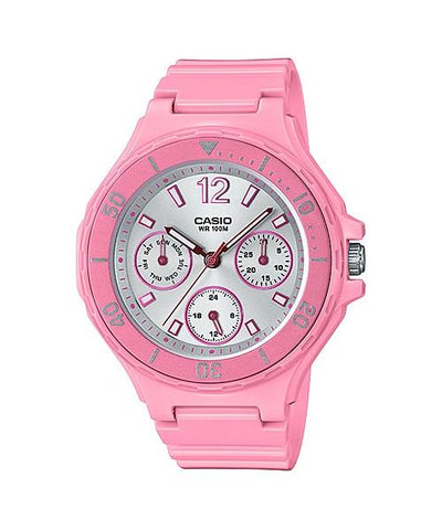 Casio Women's Diver Style Pink Resin Band Watch LRW250H-4A3 LRW-250H-4A3