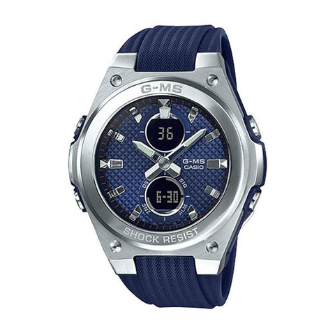 Casio Baby-G G-MS Lineup Blue Resin Band Watch MSGC100-2A MSG-C100-2A