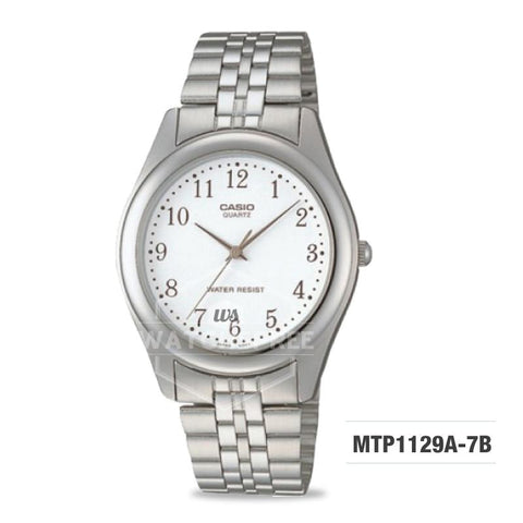 Casio Enticer Series Men's Stainless Steel Watch MTP1129A-7B