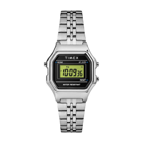Timex Ladies' Digital Mini 27mm Bracelet Watch TW2T48600