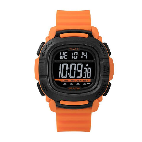 Timex Men's BST.47 47mm SIlicone Strap Watch TW5M26500