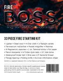 Fire B.O.S.S.- Bug Out Survival Supplement Kit