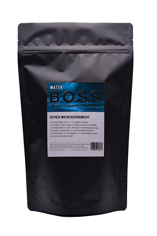 Water B.O.S.S.- Bug Out Survival Supplement