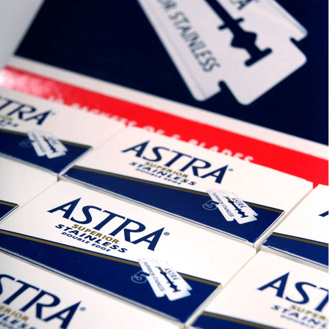 Astra Superior Stainless Rasierklingen - No More Beard