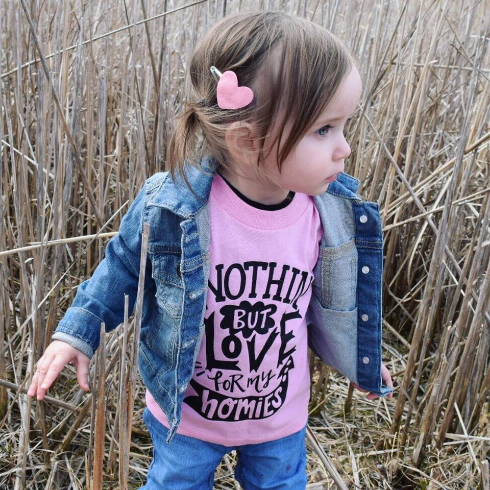 Nothin' But Love Kid's Bodysuit or Shirt