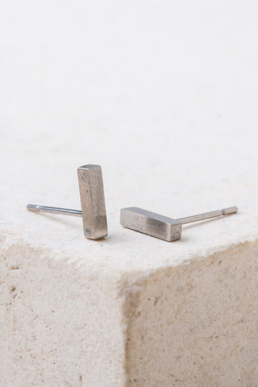 Clara Silver Stud Earrings