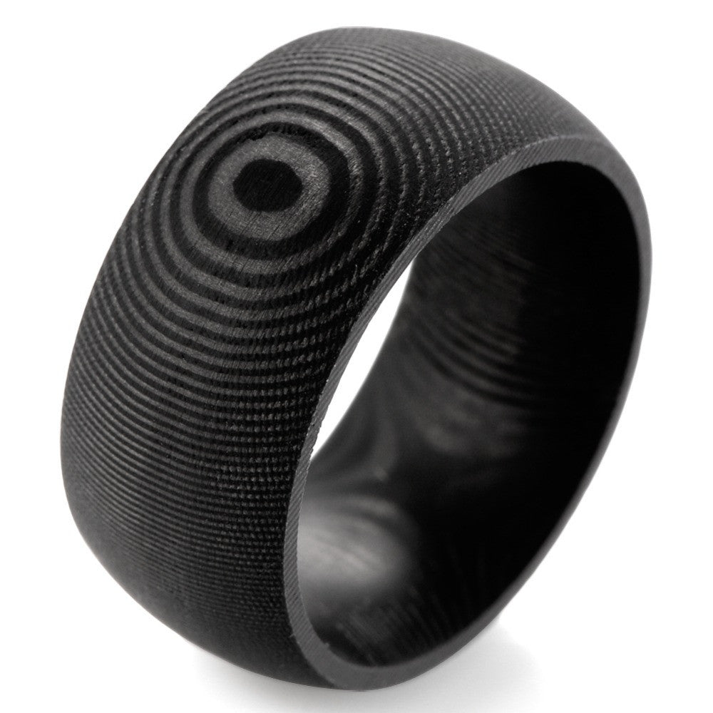 Growth Round Solid Men's Ring