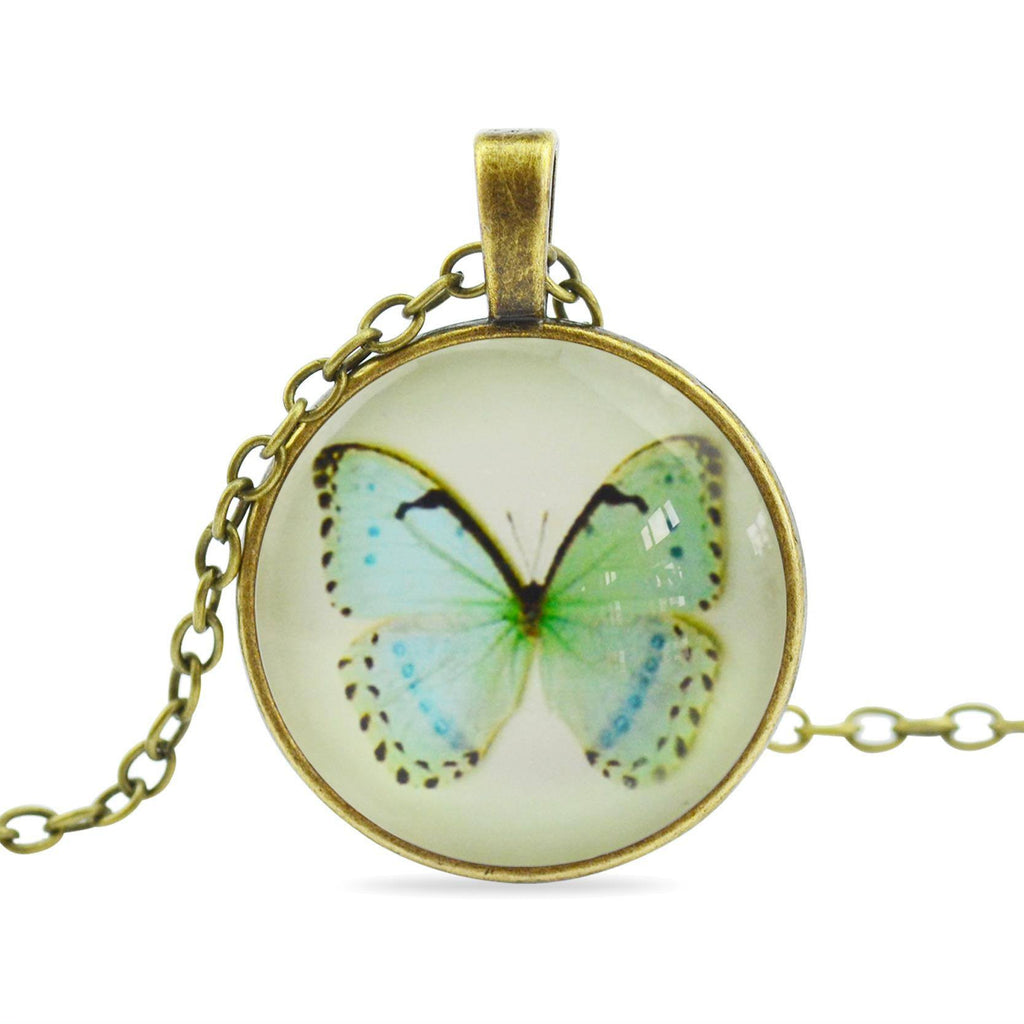 Beautiful Fashion Butterfly Pendant Necklace - CHOICE of 7 Exquisite Designs - Ezy Buy Outlet