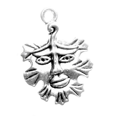 AVBeads Greenman Charms 21mm x 15mm Silver CHM32454 100pcs