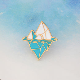 Just The Tip Of The Iceberg Pin