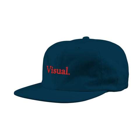 Simple Unstructured Hat - Navy