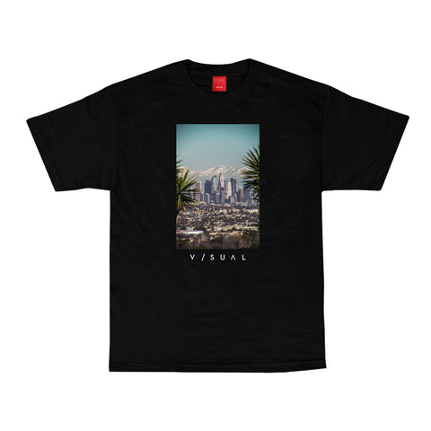 Snow Capped Tee - Black