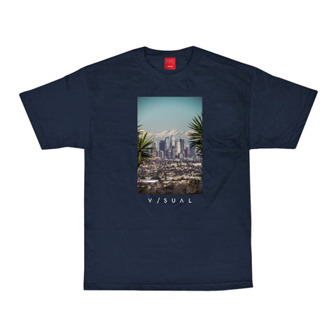 Snow Capped Tee - Navy