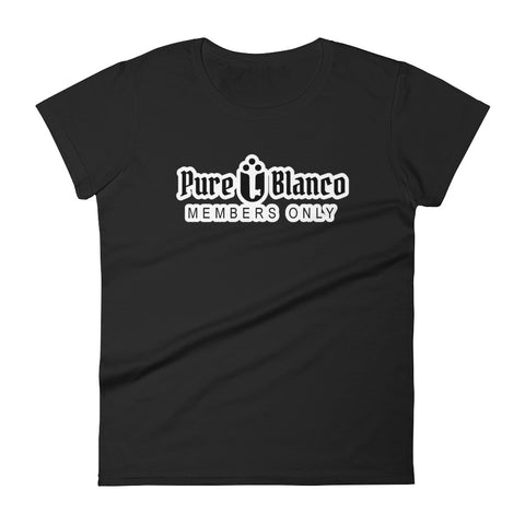Women's Pure Blanco Members Only Tee