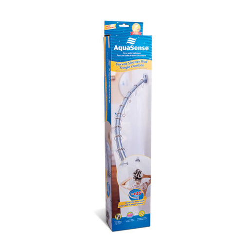 AquaSense® Curved Shower Rod