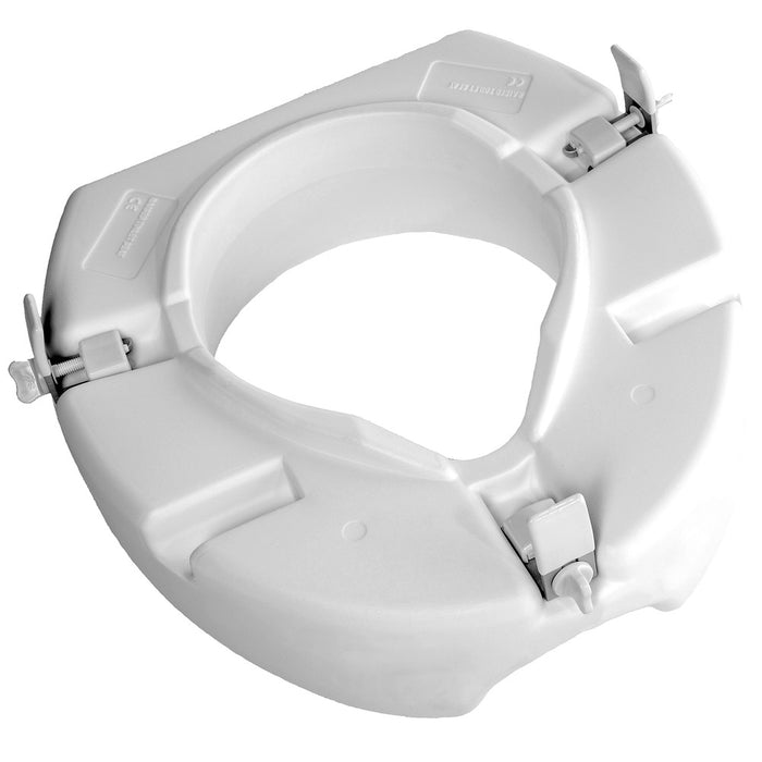 "Low Profile Molded Toilet Seat Riser - 3"" Rise"
