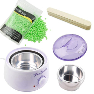 Professional Hair Removal Wax Kit - Barber Clips