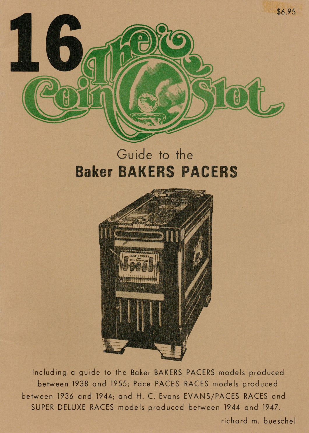 Coin Slot #16. Guide to the Baker Bakers Paces