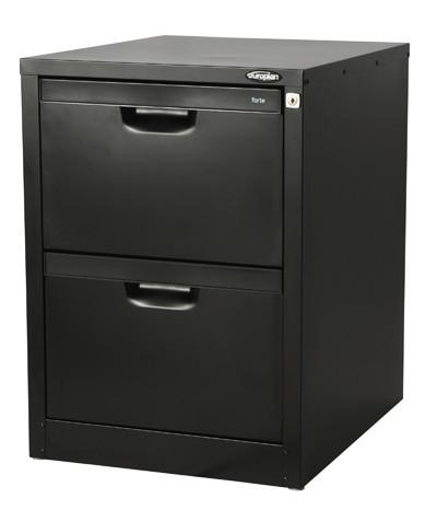 Forte Compact Filing Cabinet - 2 drawer (underdesk) - commercial traders office furniture