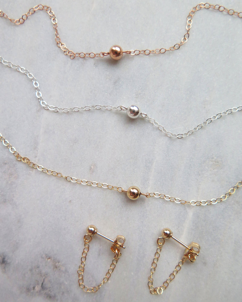CLASSIC NECKLACE- 14k Rose Gold