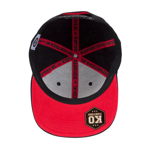 KO Fighters Snapback (red)
