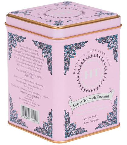 Harney & Sons Green Tea with Coconut
