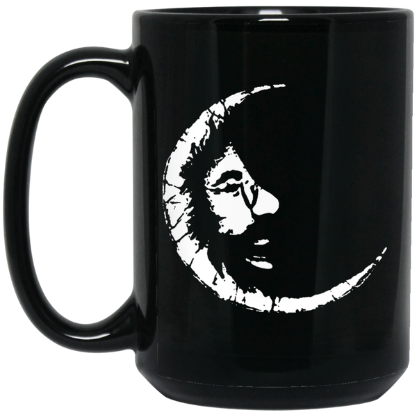 Jerry Crescent Moon 15 oz. Black Mug