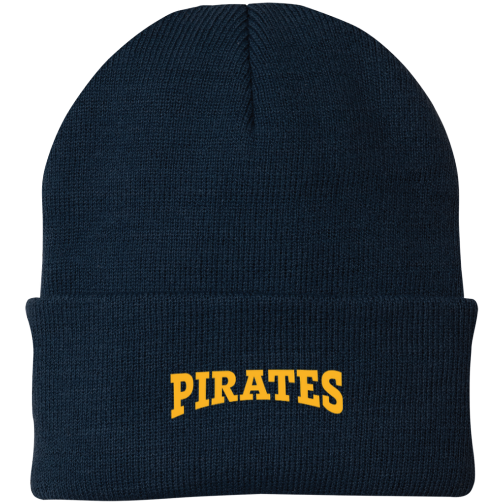 Pirates Embroidered Knit Cap