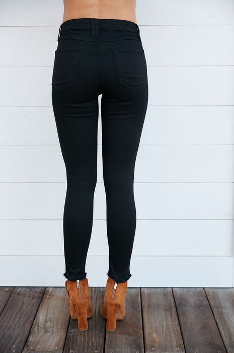The AZ Black Skinny Jean