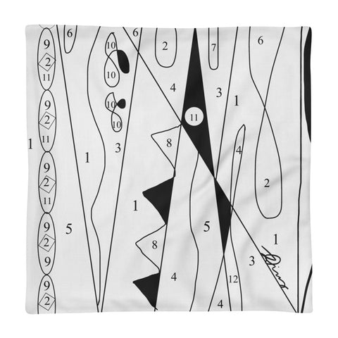 Paint by numbers Pucci Pillow Case