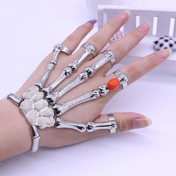 Bracelet Goth Skeleton Bracelet For Women