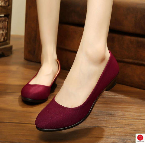Ballet Flats Shoes for Work Cloth