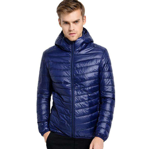 Casual Brand White Duck Down Jacket Men