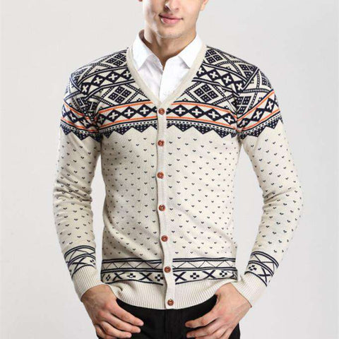Cardigan Sweater For Men casual vintage