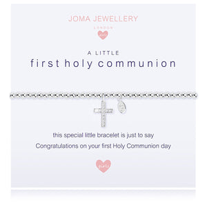 Joma Girls a little First Holy Communion Bracelet | More Than Just at Gift | Narborough Hall