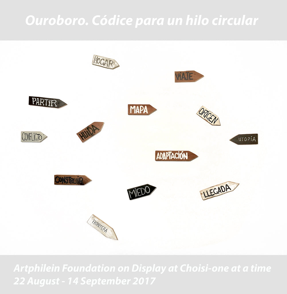 Artphilein Collection on Display: Ouroboro. Códice para un hilo circular