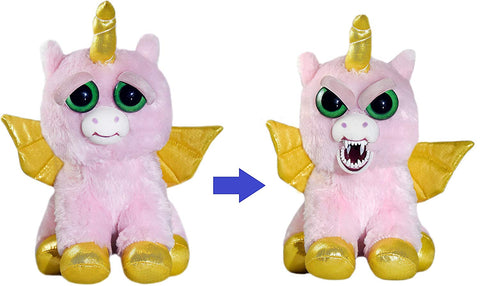 Feisty Pets Ali Cornball The Alicorn [Winged Unicorn] - Turns Feisty with a Squeeze *EXCLUSIVE*