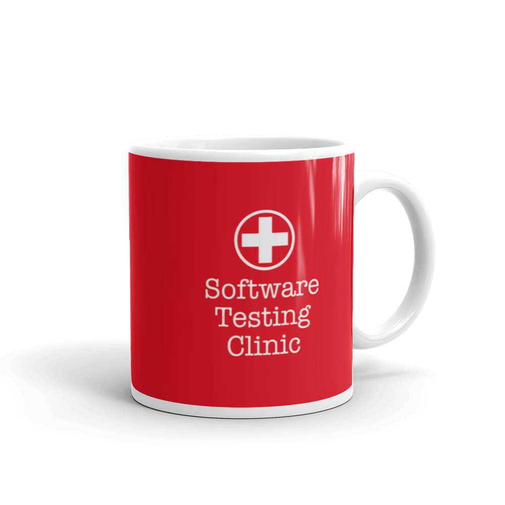 Software Testing Clinic Mug