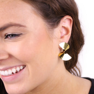 Twisted Sia Stud Earrings