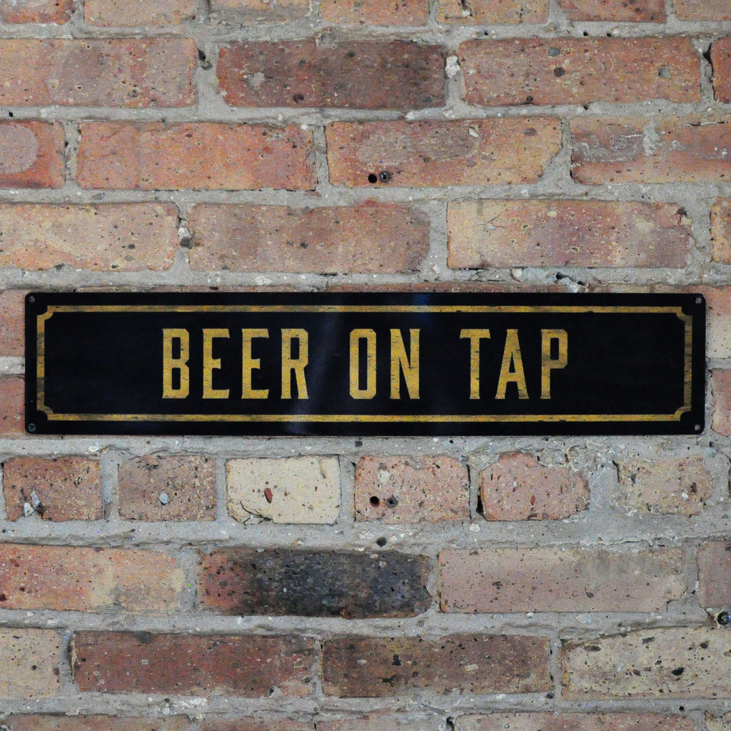 Beer On Tap Wall Sign - LoveEmme, Product_Type, Product_Vendor