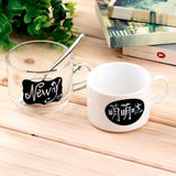 36pcs Chalk Pen Chalkboard Stickers Labels Vinyl Kitchen Jar Wall Cup Bottle Planner Mirror Decor Decals Tags